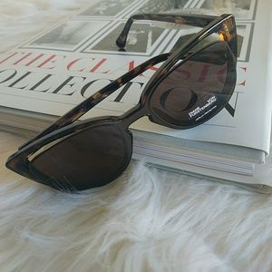 Diane Von Fürstenberg Sunglasses Brown Black